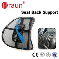 Premium Car Seat Mesh Back Support