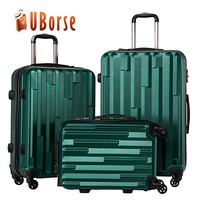 ABS PC Hardshell Plastic Suitcase Carry
