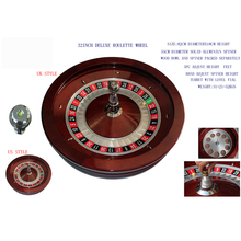 18inch 20inch 22inch 32inch roulette wheel or table with single zero or double zero