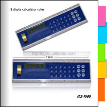 Promotional Ruler Calculator With Digital Clock