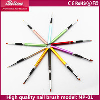 Top quality nail art pen set 5pcs nail dotting tools