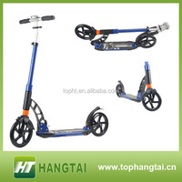 200mm wheel adult kick scooter double suspension