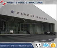 Prefabricated Steel Structure Construction Hangar Building
