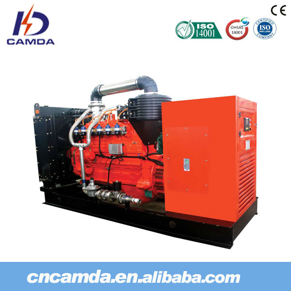 Camda Factory H Series natural gas/biogas generator sets with/without canopy low rpm generator