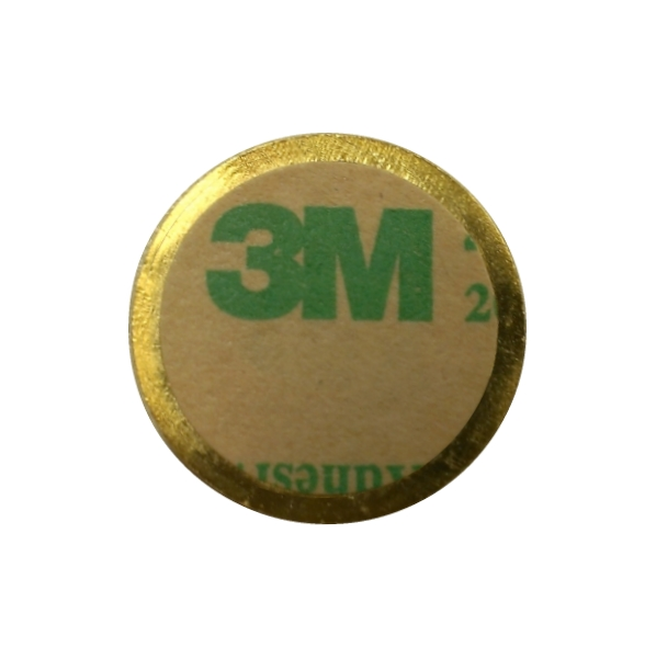 High Quality Branded Metal Logo Plate With Epoxy And 3M Adhesive