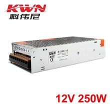 Indoor use Single Output s-250-12 ac 100-240v 50-60hz 12v Power Supply