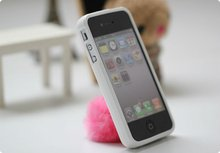 For iphone4 white case