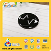 Popular product charming black round epoxy fridge magnet