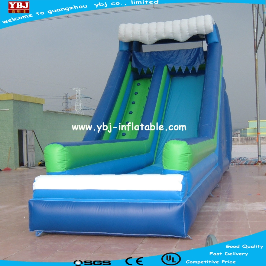 2017 commercial use inflatable wet and dry Slide for kids play in best price/cheap price inflatable slide