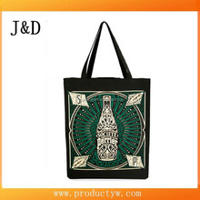 Custom Art Print Colorful Cotton Shopping Bag Tote Bag