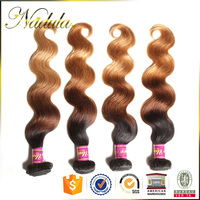 Guarantee Vendors Amazing Fashion Red Ombr Brazilian Hair