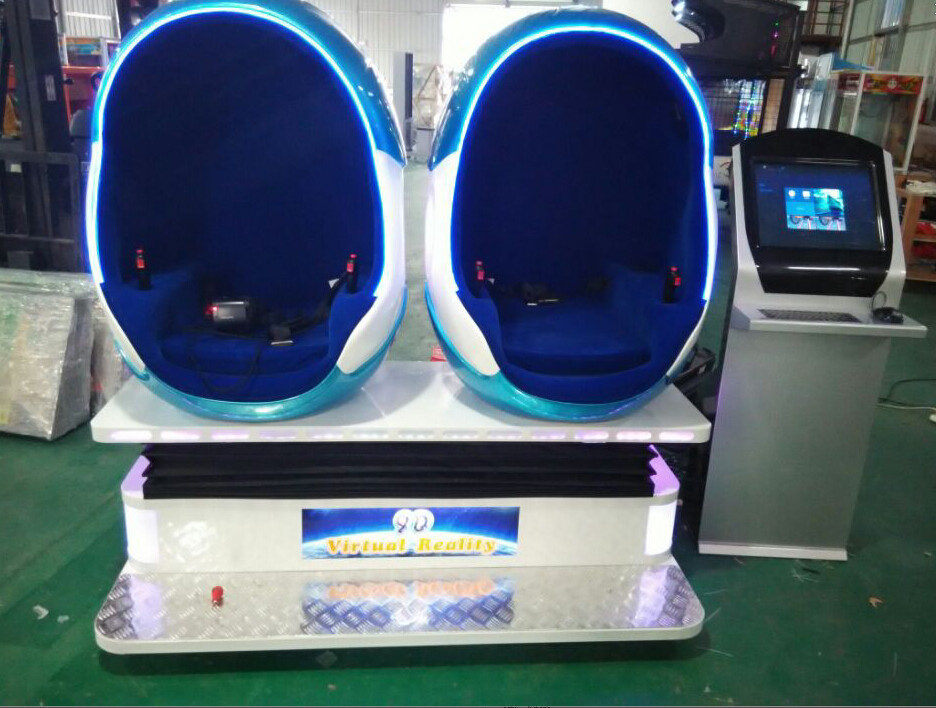 Factory Price 360 Degree Egg Shape Seat Mobile 9Dvr Film Mini Van