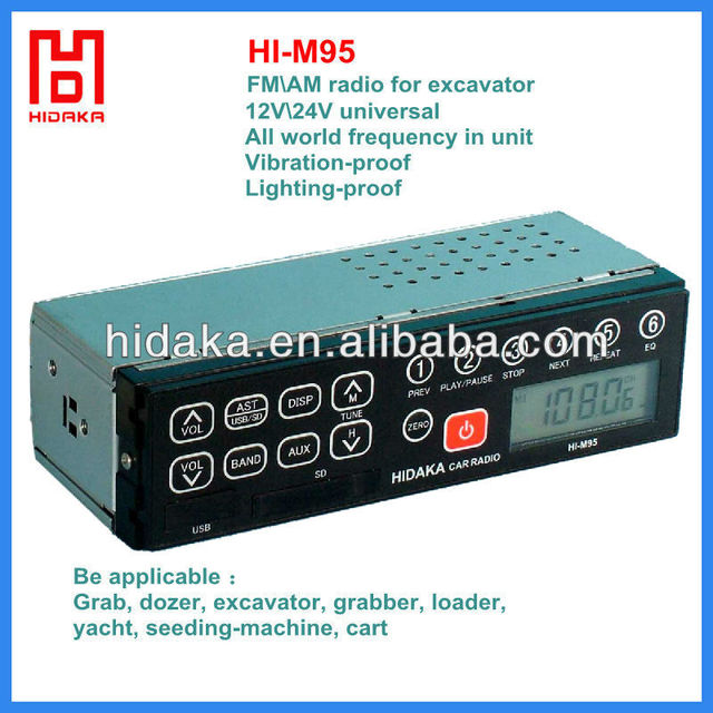 china manufacturer popular in the world 24 volt car radio 2015 car radio media player hot selling