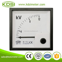 20 Year Top Manufacturer of CE,ISO passed BE-72 AC10/0.1KV 12KV car cigarette lighter voltmeter