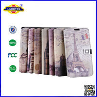 3d sublimation mobile phone case wallet leather cover for samsung note 2 n7100 laudtec