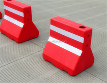 water filled barrier plastic water barrier plastic safety barrier manufacture in Zhejiang