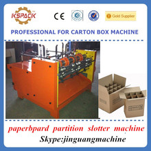 Carton box making machine / Corrugated cardboard partition slotter machine / corrugated cardboard slitter machine