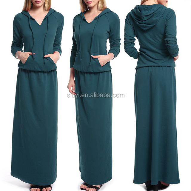 hoodie dress womens hoodie long sleeve v neck pockets floor length maxi dress plus size custom hoodie sweatshirt dresses