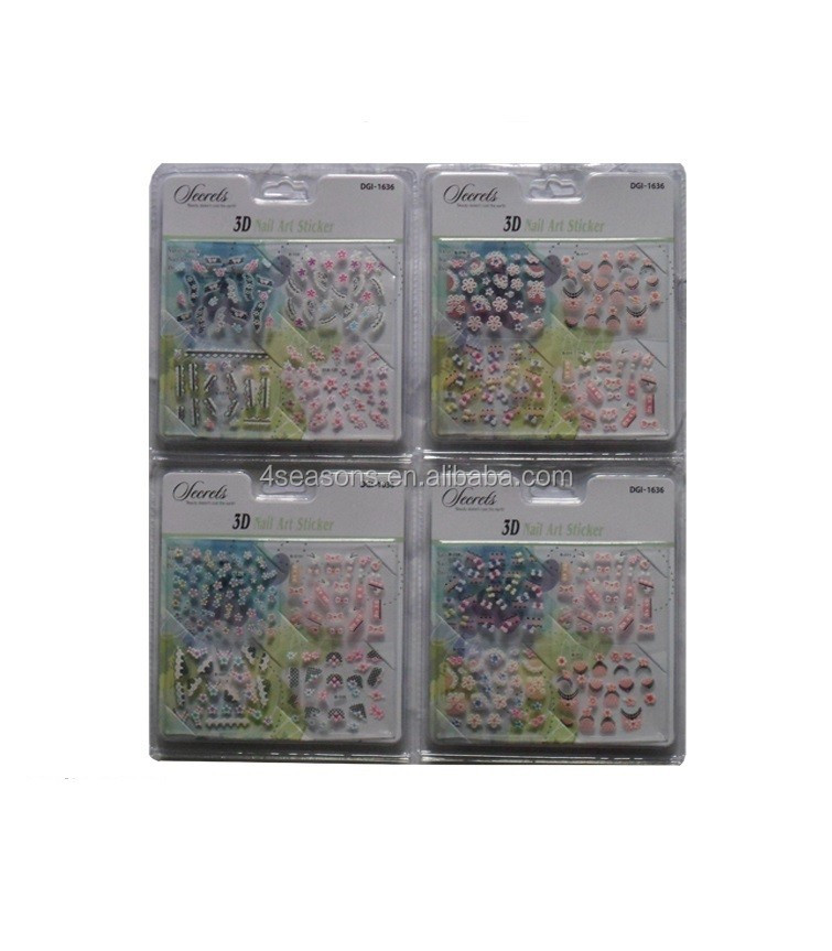 3D crystal nail sticker nail art sticker nail sticker printing
