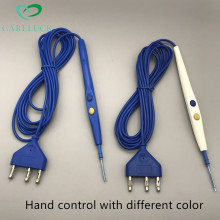 medical disposable cautery electrosurgical pencil ,esu pencil with hand control and foot control