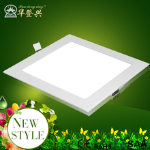 CE Rohs approved led light panel manufacturers 15W 18W 24W indoor Office, aisle, ceiling