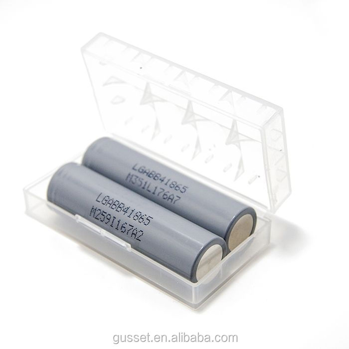 Wholesale LG icr 18650 B4 battery Rechargeable li-ion High Discharge 2600mah batteries