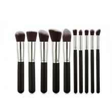 10pcs High Quality professional makeup brushes set cosmetic brushes