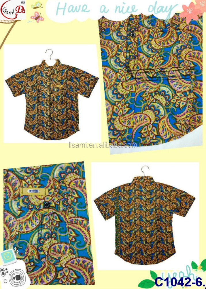 Chowleedee c1042 baby shirt with all size fantastic design lovely color for child/baby leisure summer wholasale shirt for Africa