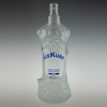 Low Cost High Quality Vodka 750ml Russian Glass Bottle