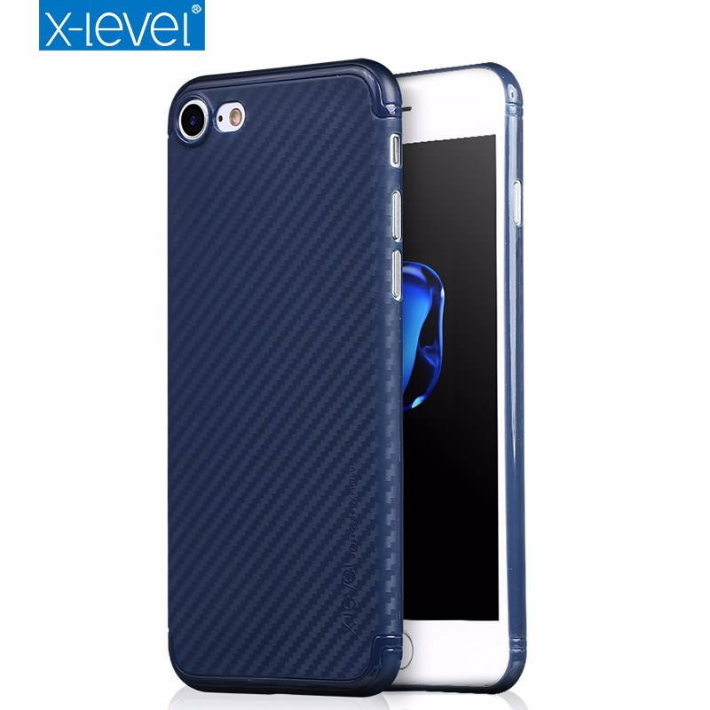 Xlevel Ultrathin 0.3MM PP phone case Full Edge protective back cover For iPhone 7