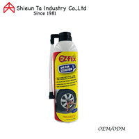 Anti puncture tire sealant and inflator for car
