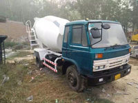 used concrete truck mixer truck used 6CBM concrete mixer for sale in china