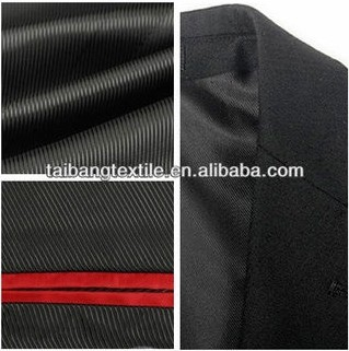 100% Polyester lining fabric italy men's suits/coat/ and women's dress suits
