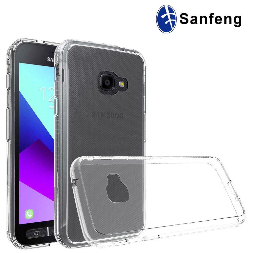 For Samsung Galaxy Xcover 4 Drop Protect Transparent Clear Phone Cover
