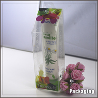 Fancy design clear plastic box for sale/ custom clear plastic cosmeric box with factory price