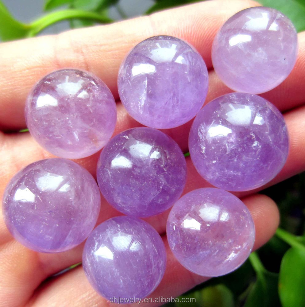 natural small size amethyst sphere balls quartz crystal sphere healing for sale