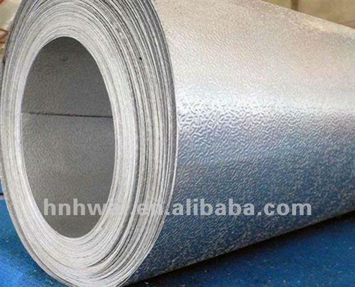 1100 hydrophilic stucco embossed aluminum foil for air-conditioner