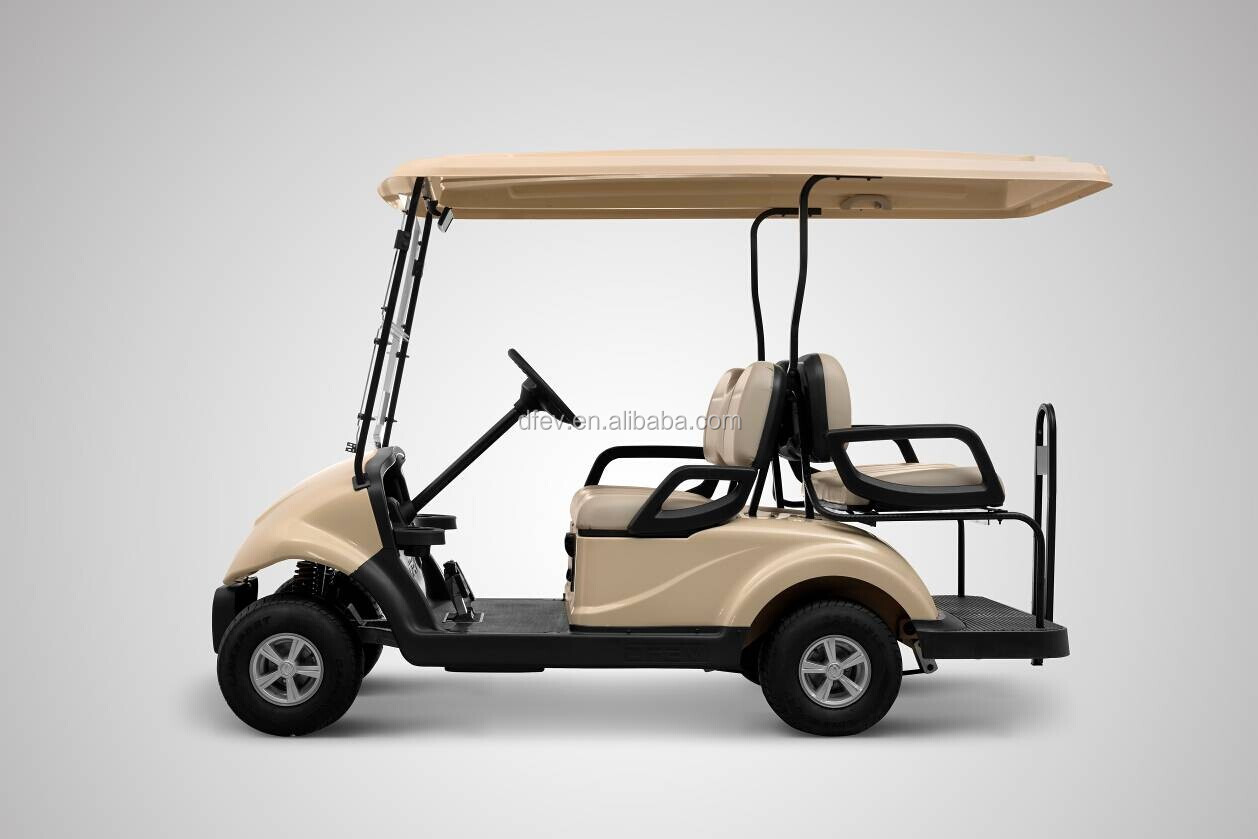 4 Seater Electric Golf Carts/Sightseeing car/Resort cart
