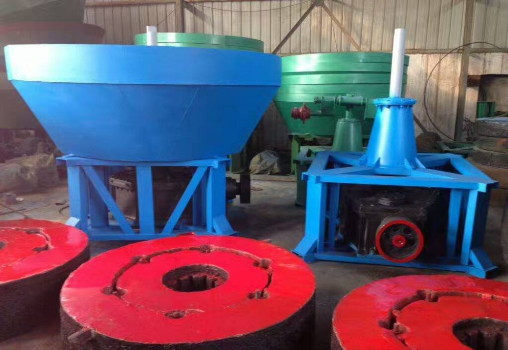 wet pan mill CIQ CO approved low investment
