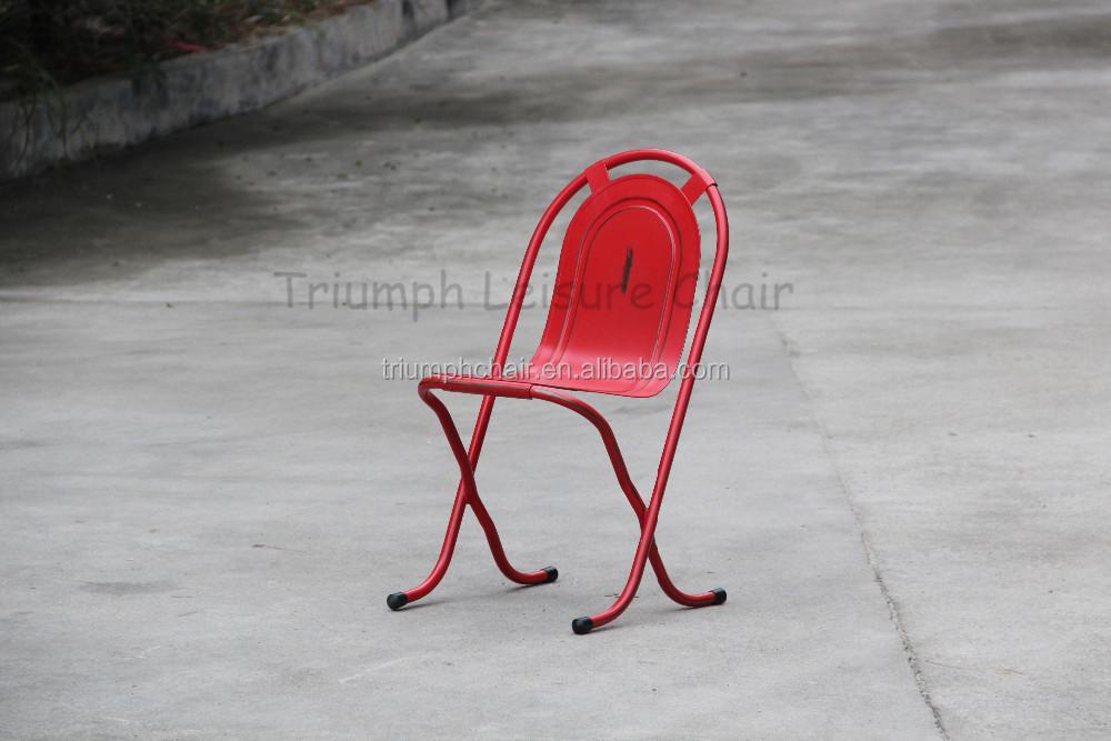 ... sedie pieghevoli/dinging sedia impilabile in metallo/vintage