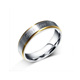 Forever Love Silver Eternity Ring, Stainless Steel Customize Promise Rings For Her