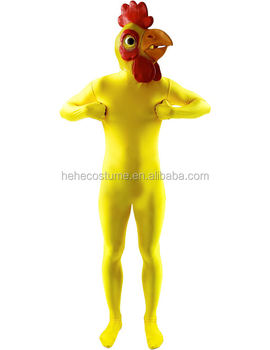 Chicken Morphsuit costume
