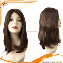 Long Hair Wig Hot Sale European Human Hair Jewish Kosher Wig Silk Top Full Lace Wig