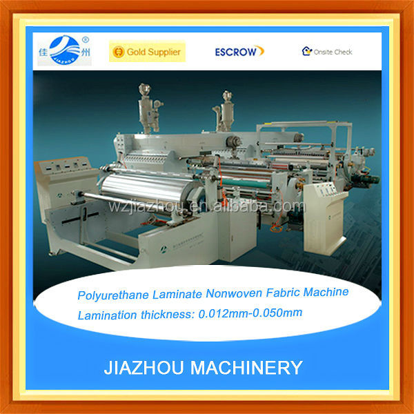 Polyurethane Laminate Nonwoven Fabric Machine