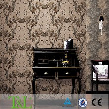 Original korean designs heavy embossed wallpaper