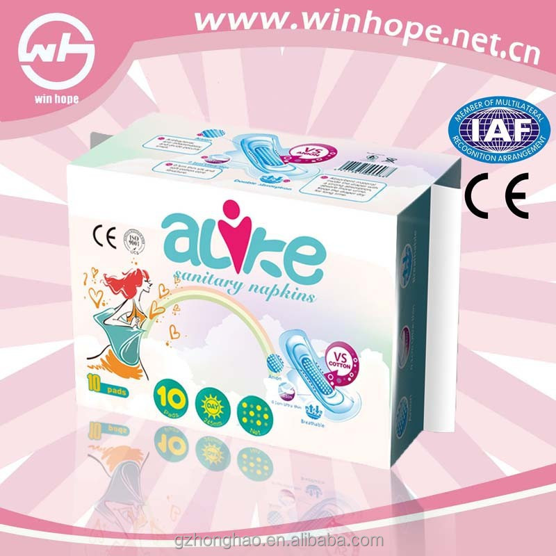 alike sanitary napkin with green core intimate service meet all buyers