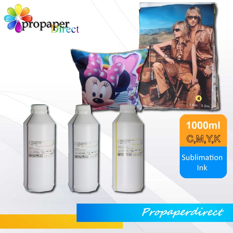 polyester fabrics printing heat transfer sublimation ink for epson