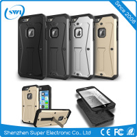 wholesale hot selling heavy duty armor mobile phone back cover case for iphone 6,case cover for iphone 6