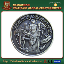Custom souvenir premium quality novelty coin silver copy