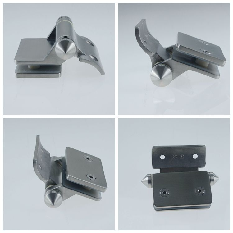 spring loaded gate hinge for 8 - 12mm pool fencing